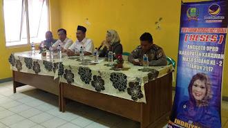 Reses DPRD Karawang, Indriyani Temukan Infrastuktur Desa Tertinggal