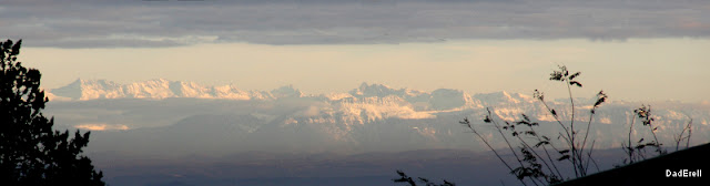 Chaîne de Belledonne, Alpes.