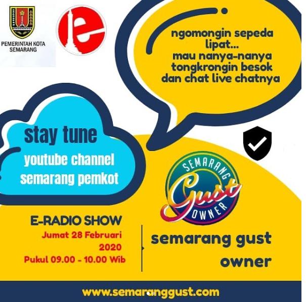 E Radio Show Koran Pagi Nggowes Karo Sego Semarang Gust Owner