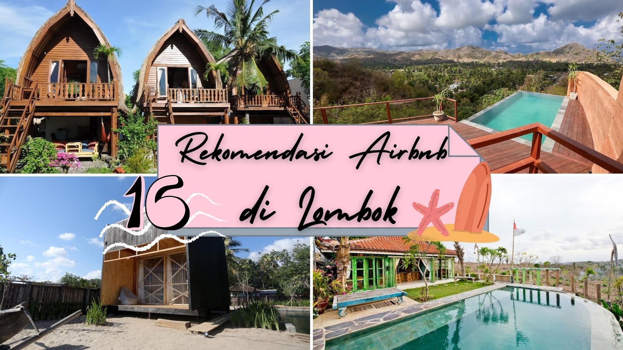 rekomendasi instagramable airbnb di lombok
