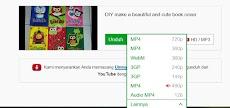 Cara cepat download video di youtube