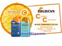 Logo Cashback Bilboa ''Ci piace, ci conviene'': rimborso del Solare Vitamina C