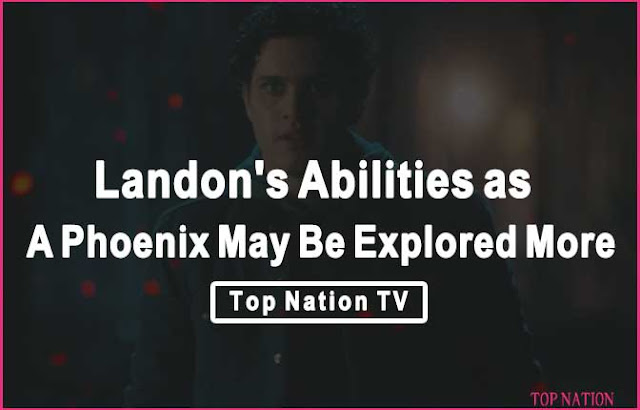 London's abilities as a phoenix may be explored more