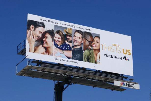 This Is Us season 4 billboard