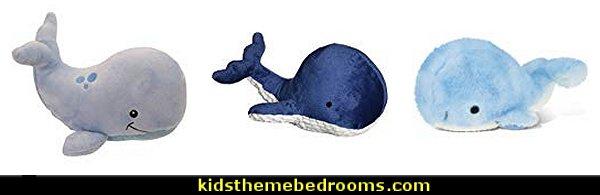 whale plush toys