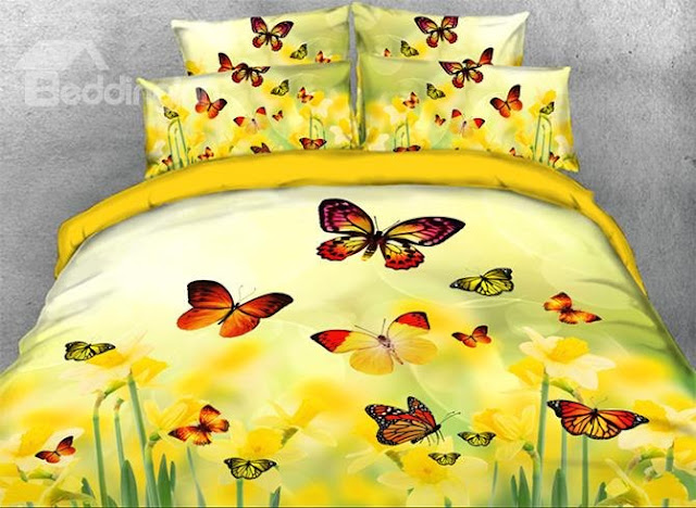 Beddinginn floral bedding