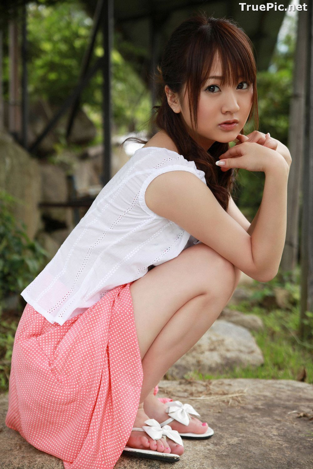 Image [YS-Web] Vol.328 - Japanese Tarento and Gravure Idol - Hamada Shoko - TruePic.net - Picture-2