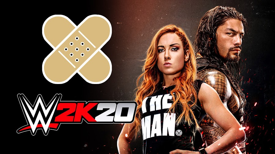 wwe 2k20 broken patch 2k sports response visual concepts pc ps4 xbox one glitches bugs lags
