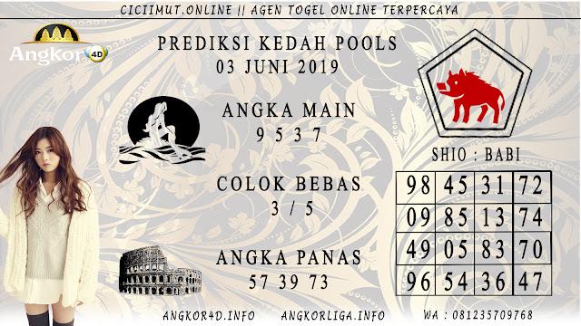PREDIKSI KEDAH POOLS 03 JUNI 2019
