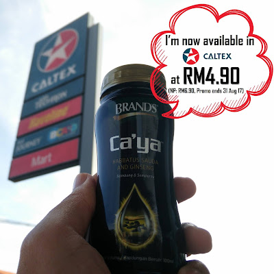Brand's Ca'ya Drink Caltex Discount Offer Promo