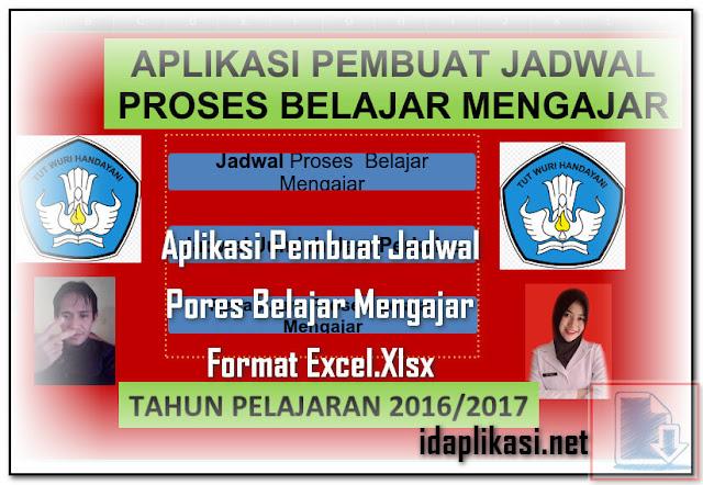Aplikasi Pembuat Jadwal Pores Belajar Mengajar Format Excel.Xlsx