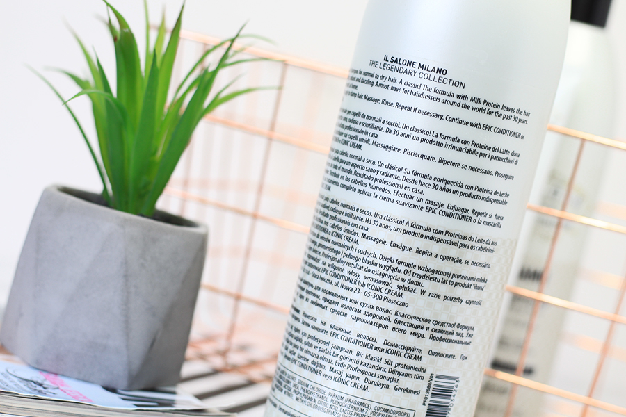 Il Salone Milano, Mythic - szampon do włosów normalnych i suchych