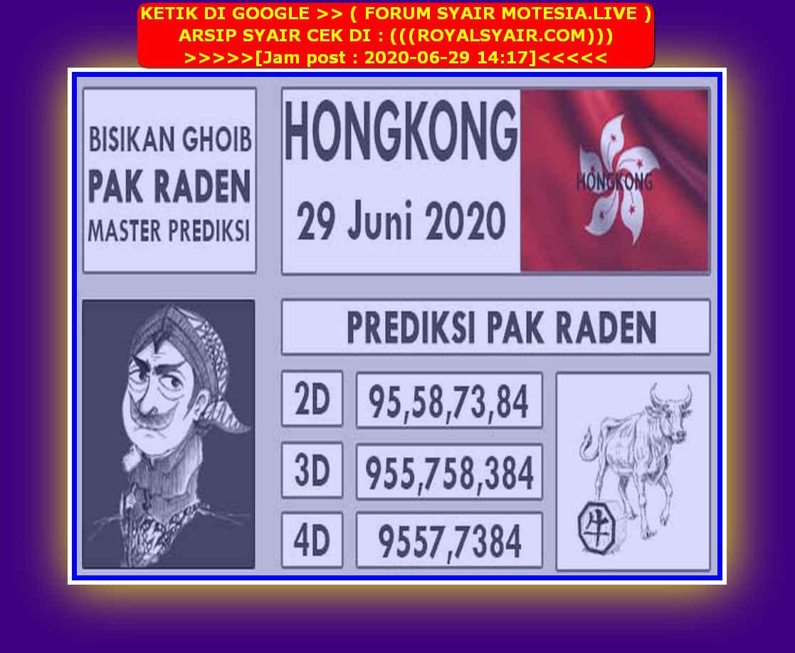 Kode syair Hongkong Senin 29 Juni 2020 173