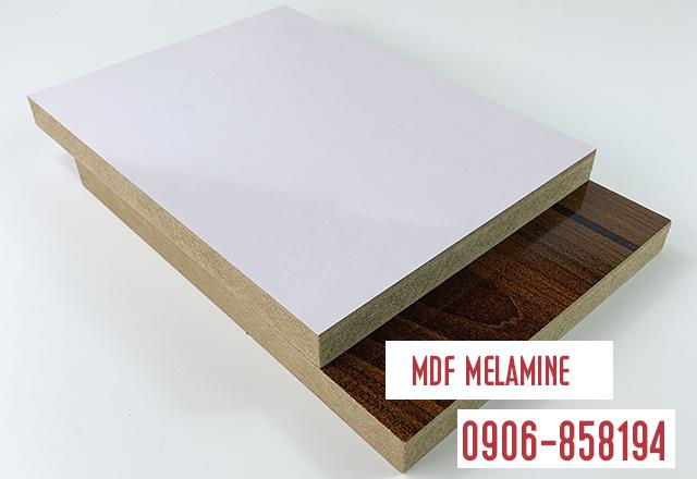 Ván mdf phủ melamine trắng