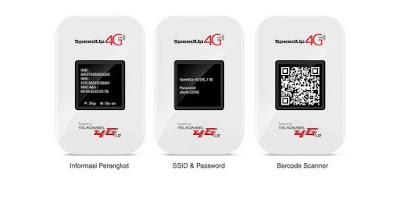 Telkomsel SpeedUp MiFi 4G