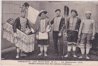 pays basque mascarade soule