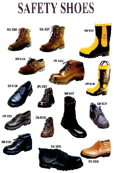 Alat Pelindung Diri [K3] Keselamatan Kerja Safety Shoes