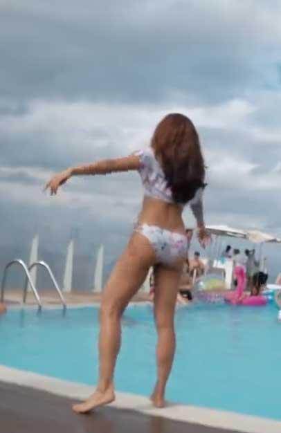 Jacqueline Fernandez in bikini Swimsuit