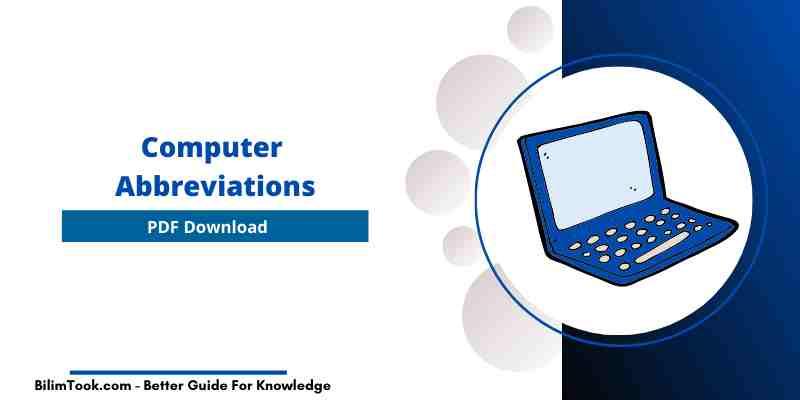 Computer Abbreviations [PDF Download]