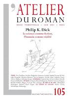 l'atelier du roman philip dick