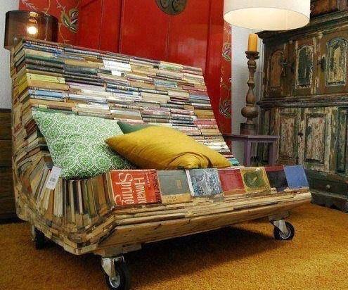 r cup et fait maison des id es r cup et d co recycler de vieux livres en objet d co. Black Bedroom Furniture Sets. Home Design Ideas