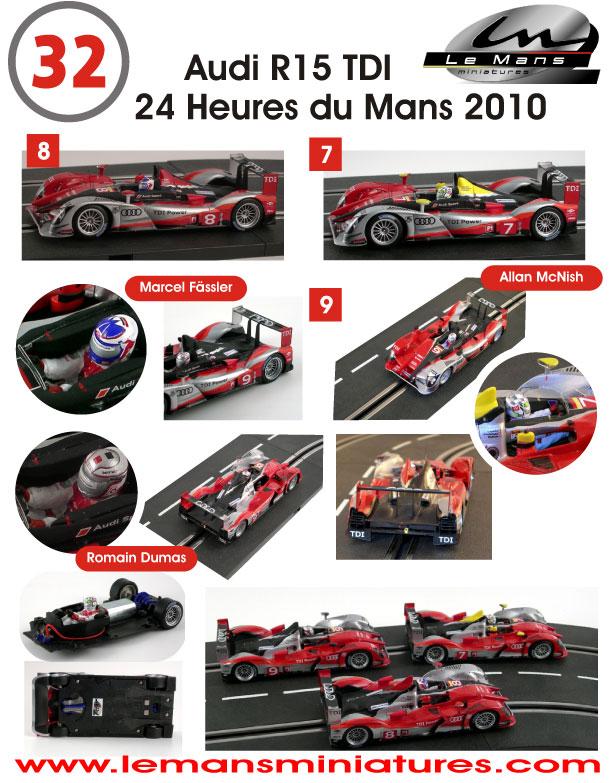 Slot Car News: LeMans Miniatures R15