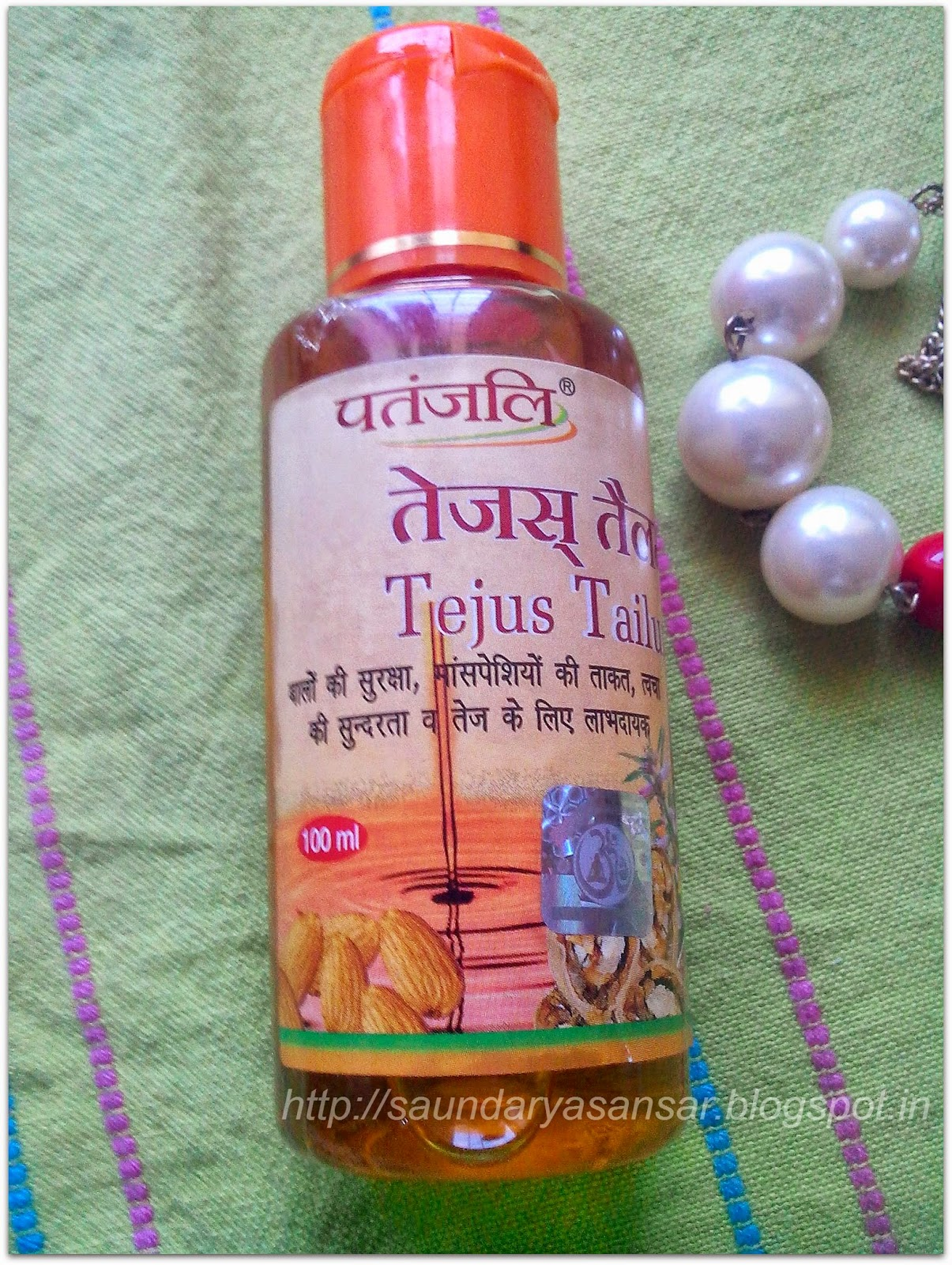 Beauty and Fashion obsessions: At Home Spa with Patanjali Tejus Tailum