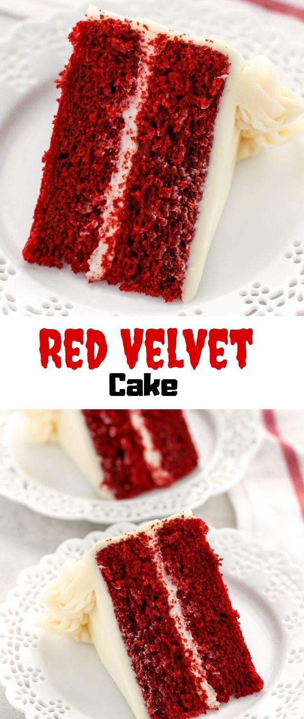Red Velvet Cake #Red #Velvet #Cake Cake Recipes From Scratch, Cake Recipes Easy, Cake Recipes Pound, Cake Recipes Funfetti, Cake Recipes Vanilla, Cake Recipes Bundt, Cake Recipes Homemade, Cake Recipes Chocolate,