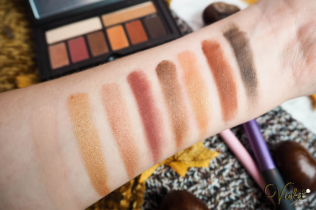 Smashbox Cover Shot Eye palette in Ablaze swatches