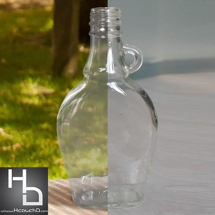 درس 74 : كيفية إزالة خلفية قنينة زجاجية بفوتوشوب