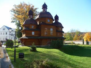 Крехов. Монастырь св. Николая. Церковь Покровы Пресвятой Богородицы