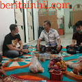 Ketua DPRD Bersama Kapolres dan Rekan-rekan Media Jenguk Tokoh Masyarakat Inhil yang Sakit