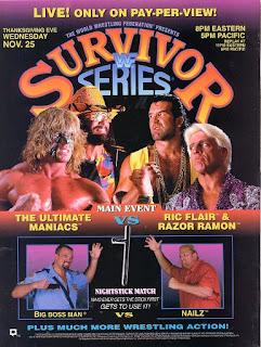 WWF (WWE) SURVIVOR SERIES 1992 - EVENT POSTER