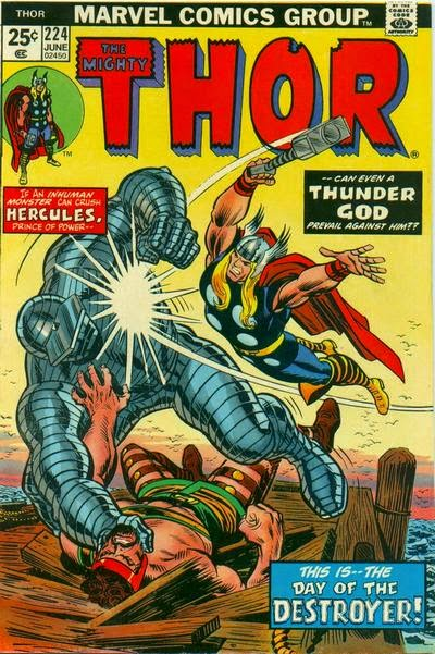 Thor #224, Hercules and the Destroyer