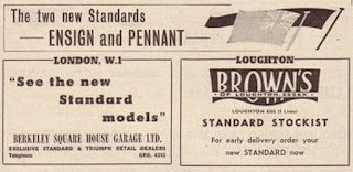 Browns of Loughton, Essex advert from Autocar18Oct1957