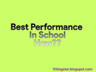 Best Performance In School- Image