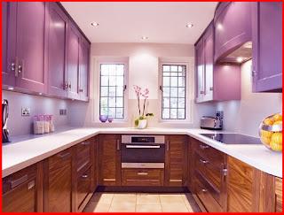 Pilih Warna Terang Di Tempat Tertentu Dalam Dapur Seperti Dinding Dan Siling Duduk Jangan Lupa Untuk Menyediakan Lampu Dengan Candelier Yang