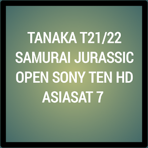 Receiver Tanaka T21/22 Open Sony Ten HD Terupdate