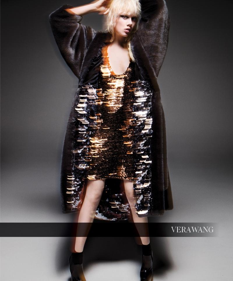 Vera Wang spotlights sequins for fall-winter 2019 campaign