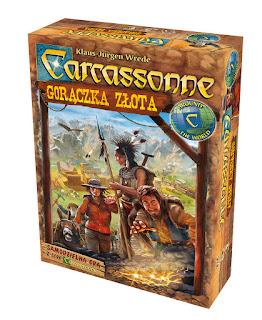 Carcassonne. Gorączka Złota