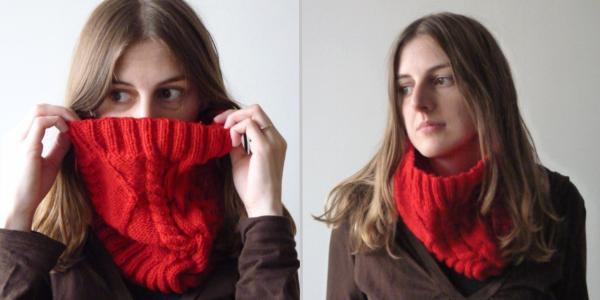 Modele tricot snood phildar