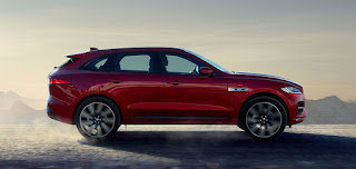 dimensioni jaguar f-pace laterale