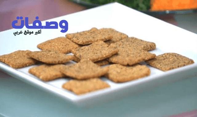 شرائح الخبز المشبعة لسالي فؤاد