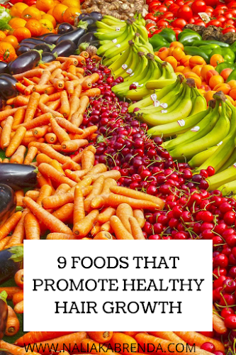 9 FOODS THAT PROMOTE HEALTHY HAIR GROWTH