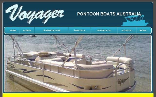 Voyager Ponton Boats