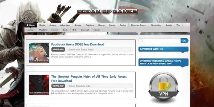 Ocean of Games - situs download game PC ringan full version