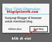 Cara Mudah Membuat Blog di Blogspot Lewat Android
