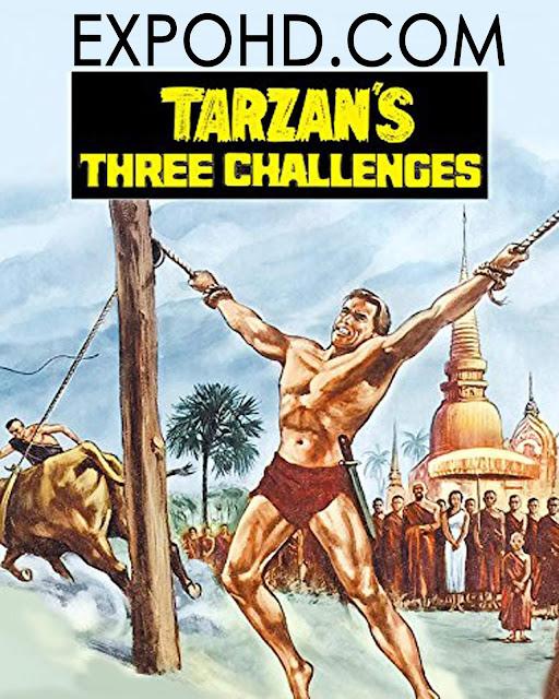 Tarzan's Three Challenges 1963 Watch Now Free 480p | Esub 890Mbs [Download]