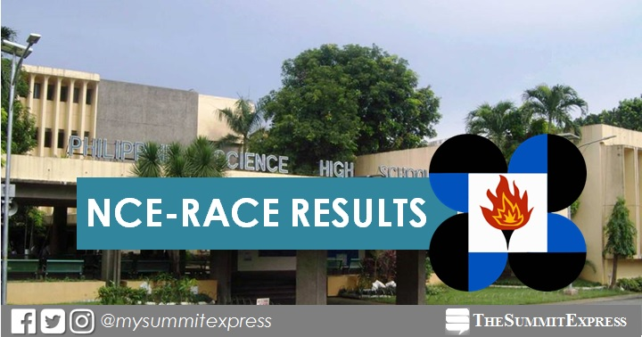 RESULTS, LIST OF QUALIFIERS: 1,706 pass 2020 PSHS NCE-RACE