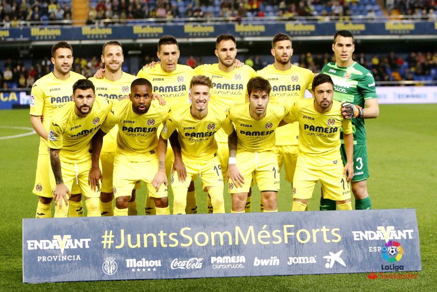 EQUIPOS DE FÚTBOL  VILLARREAL contra Athletic Club de Bilbao 07 04 2017 6324232a32570